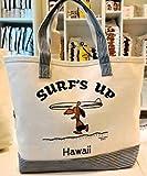 moni Hawaii 日焼けスヌーピー トートバッグ