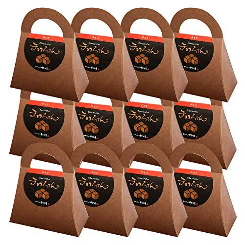 伊豆河童 チョコろてん 12個セット ダブルチョコ味 (カカオ入り角心太95g チョコソース12.5g×2 珈琲フレッシュ5g)×12 冬ギフト 向け