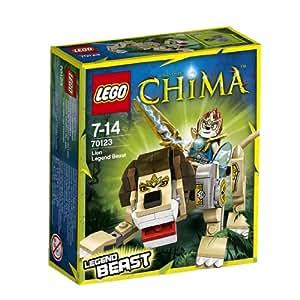 レゴ (LEGO) チーマ 伝説のビースト「ライオン」 70123