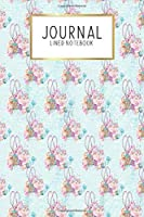 """Journal Lined Notebook: Sewing Sew Floral   Blank Lined Journal   Gratitude Journal   6"""" x 9"""" 100 Pg  Motivational Quotes   Self-Care   Diary   Gift"""