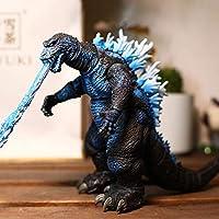 おもちゃの像 レッドロータスゴジラ像共同可動膜キャラクターグッズモデルイベントキャラクタモデルの子の装飾モデルD-17センチメートル、F、17センチメートルを燃やしキャラクタモデル GFLNB (Color : B, Size : 17CM)