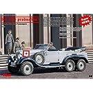 1/35 独・G4高官用6輪乗用車 DB社製 1939年型 + 乗員4体
