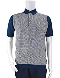 JOHN SMEDLEY ジョンスメドレー ポロシャツ 9041HORST BLUE GLASS/WHITE/メンズ/トップス/TOPS [並行輸入品]