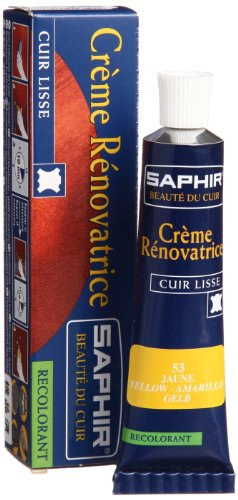 [サフィール] SAPHIR レノベイティングカラー補修クリーム 25ml 9550851 (イエロー)