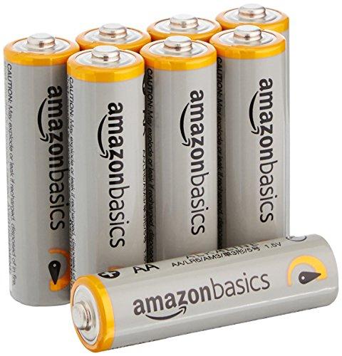 Amazonベーシック アルカリ乾電池 単3形 8個パック