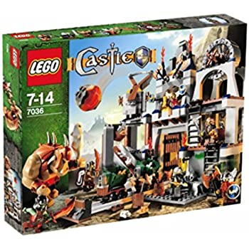 レゴ (LEGO) キャッスル ドワーフ戦士のぶき工場 7036
