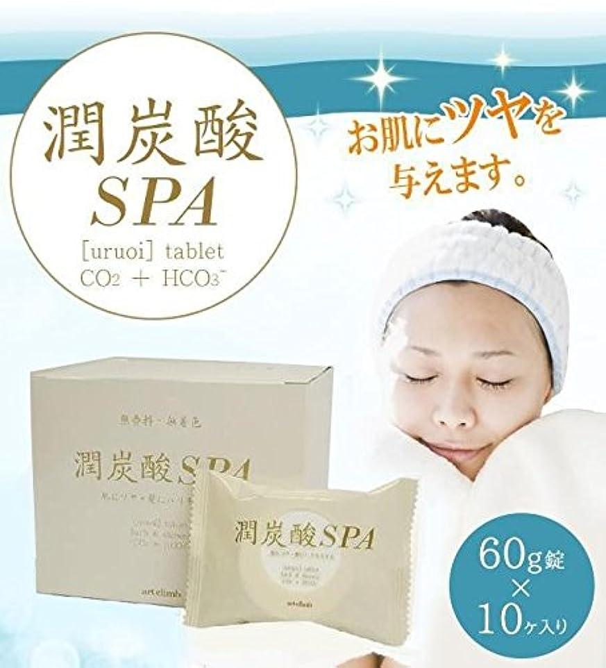 バッテリー交じる敏感な潤炭酸SPA BS 60g錠×10ヶ入り (浴用化粧料)