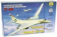 ズベズダ 1/144 ソビエト連邦軍 ツポレフ TU-160 超音速爆撃機 プラモデル ZV7002