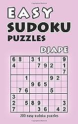 Easy Sudoku Puzzles: 200 easy sudoku puzzles