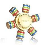 Innoo Tech ハンドスピナー 民族 精銅製 3~5分回転 品質保証 子供おもちゃ ストレス解消 ADHD 大人に適用