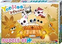 Yoohoo & Friends - 48tlg.Puzzle - Herbst: Die beliebten Yoohoo &  Friends jetzt auch zum Puzzlen! Puzzleformat 18 x 24 cm; 48 Teile