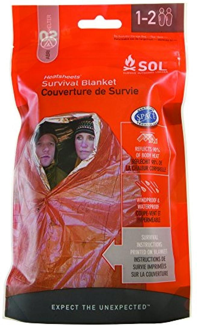学習取るに足らない将来のS.O.L Survive Outdoors Longer 90%熱反射緊急用ブランケット
