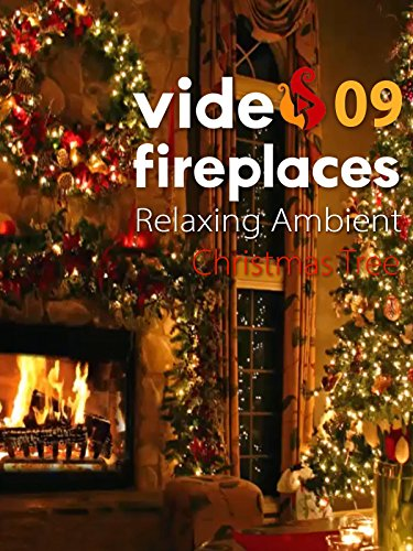 Relaxing Ambient Christmas Tree Video Fireplace 09_Japan