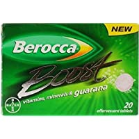 SIX PACKS of Berocca Boost 20 Tablets by Berocca