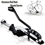 Machter Aluminium Alloy Roof Rack Mounted Frame Holding Bike Bicycle Carrier Lockable