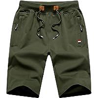 YSENTO ショートパンツ メンズ カジュアル ハーフパンツ 無地 コットン UVカット ランニング 5分丈 半ズボン…