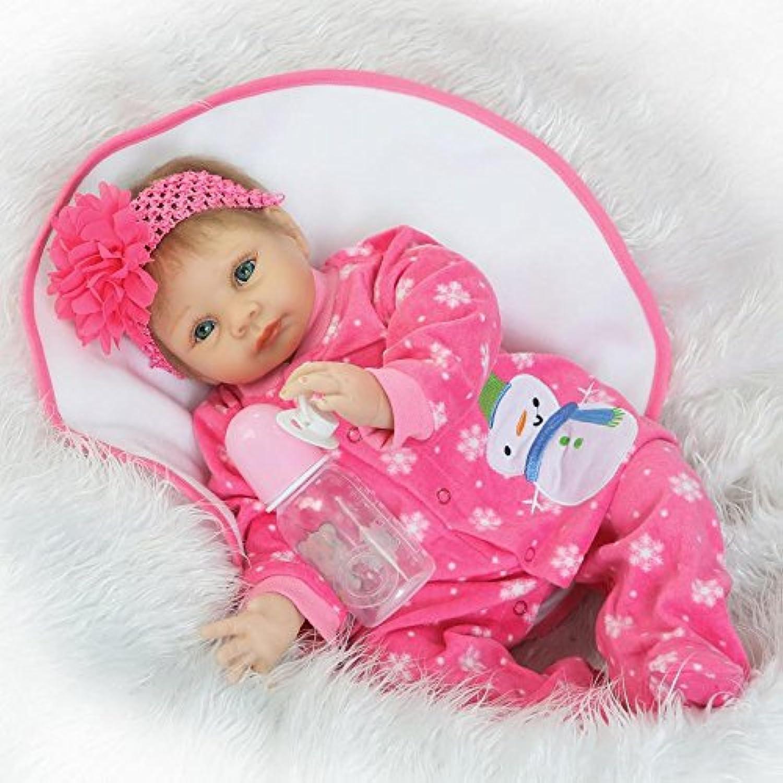 Real Life Like Reborn Baby Dolls Vinyl Silicone Newborn Doll Fake Babies 60cm