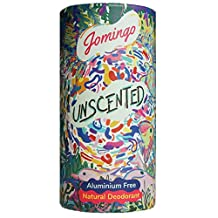 Jomingo Unscented Aluminium Free Natural Deodorant Stick For Women and Men, 40g