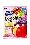 アサヒグループ食品 バヤリースとろける果実のど飴 120g×6袋