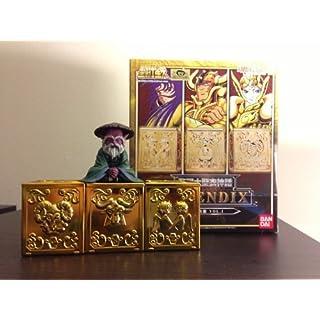 魂ウェブ限定 聖闘士星矢 聖闘士聖衣神話 APPENDIX 黄金聖衣箱 Vol.1