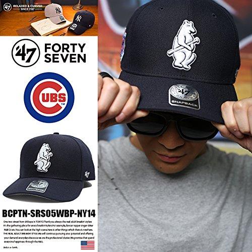 【BCPTN-SRS05WBP-NY14】 フォーティーセブンブランド 47BRAND キャップ CAP 帽子ベースボール ボールキャップ MLB メジャーリーグ シカゴ カブス 正規品