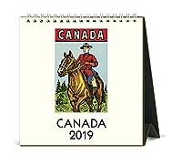 カナダイーゼルデスクカレンダー カナダ Calendars CAL19-22