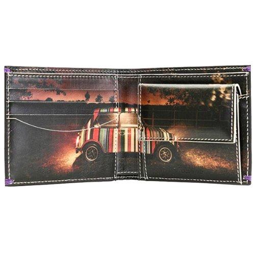 PAUL SMITH ポールスミス 二つ折り財布 ミニクーパー AJXA 1033 W546 B