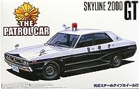 青島文化教材社 1/24 ザ・パトロールカー No.01 C110 ケンメリ 4Dr
