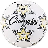 ChampionスポーツViperサッカーボール、サイズ3、ホワイト