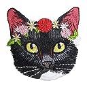 アイロンワッペン 動物 アニマル (7 花輪ネコ)