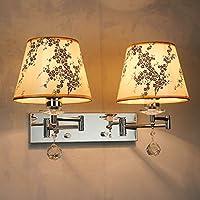 調光可能なLEDウォールランプ、伸縮バンドスイッチリーディングランプ、ホースロッカーランプ、スタイリッシュなベッドルームのベッドサイドランプ g (色 : B3)