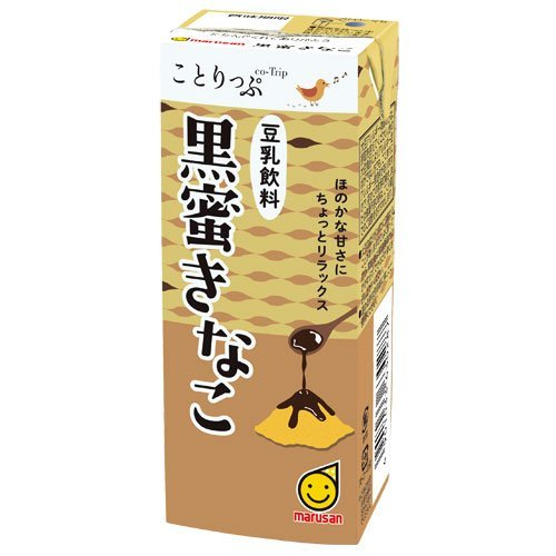マルサンアイ ことりっぷ 豆乳飲料 黒蜜きなこ 200ml×24本