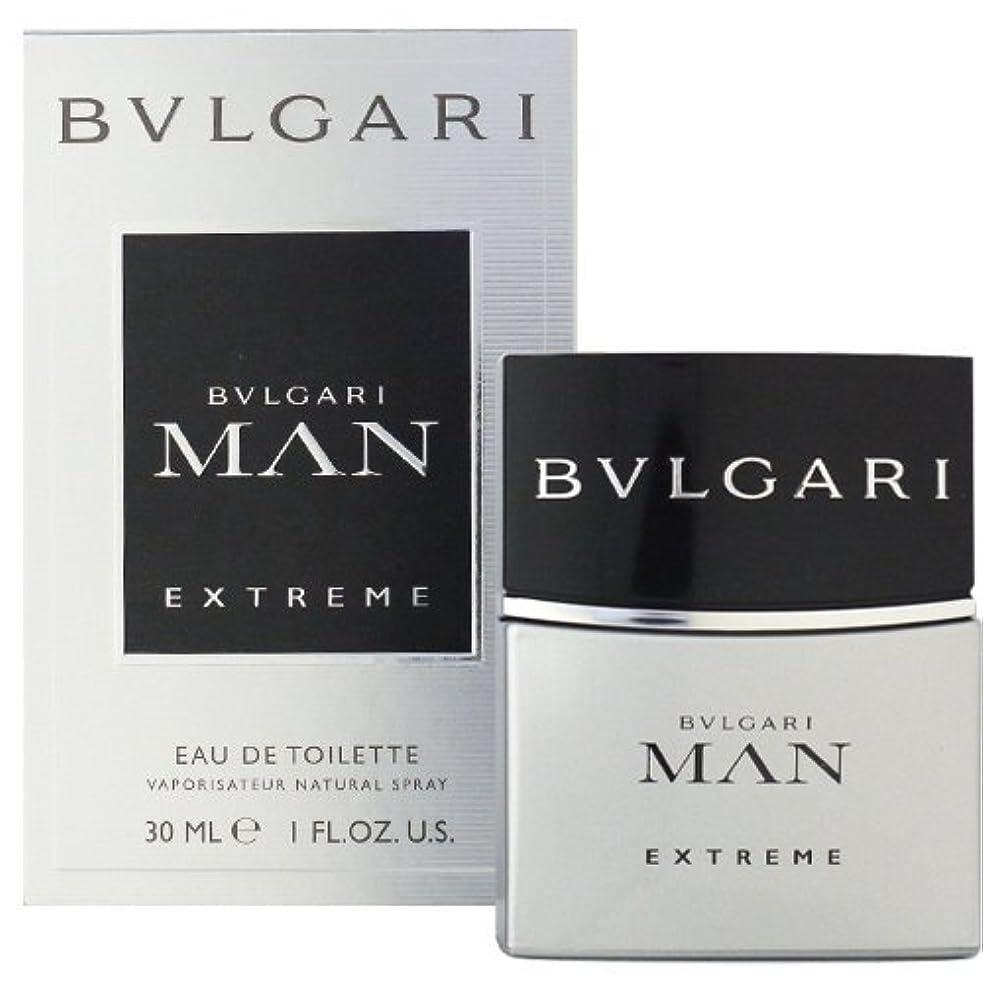 くつろぎメーカー安価なブルガリ BVLGARI ブルガリ マン エクストレーム 30ml EDT SP fs 【並行輸入品】