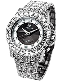 最強のパフォーマンス!シャーニング ソーラー 電波腕時計 [ J.HARRISON ] 誕生日プレゼント (シルバー)