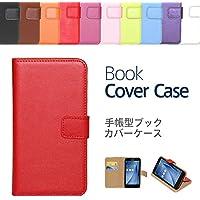 """【ケートラ】 ZenFone Max Plus(M1) ZB570TL ケース 手帳型 ブックカバーケース""""Book Cover Case"""" 手帳型ケース カバー 手帳型 (ZenFone Max Plus(M1) ZB570TL, レッド)"""