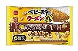 おやつカンパニー ベビースター ラーメン丸CoCo壱番屋 チーズカレー味6袋入 126g(21g×6袋)×12袋