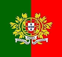 国旗 ポルトガル軍旗 約120cm×120cm