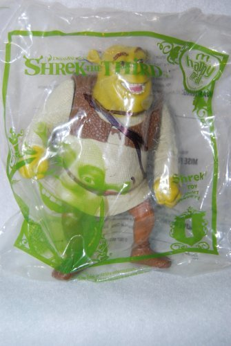 McDonalds 2007 Happy Meal Shrek the Third Shrek Figure #1 by McDonald's [병행수입품]-