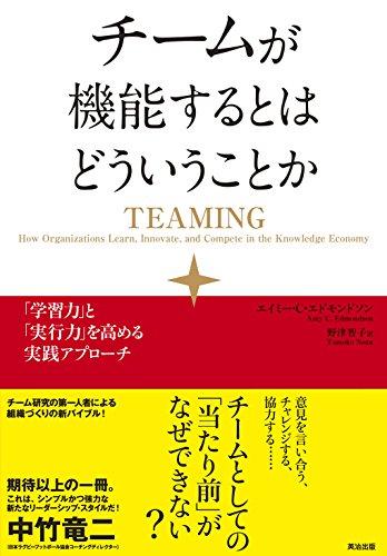 チームが機能するとはどういうことか ― 「学習力」と「実行力」を高める実践アプローチの書影