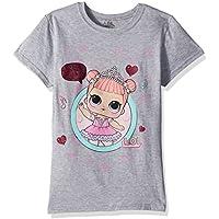 L.O.L. Surprise! Girls Dance Club Center Stage Short Sleeve T-Shirt Short Sleeve T-Shirt - Gray