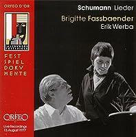 ファスベンダー十八番のシューマン「女の愛と生涯」  (Schumann, Robert; Brahms, Johannes: Liederabend)