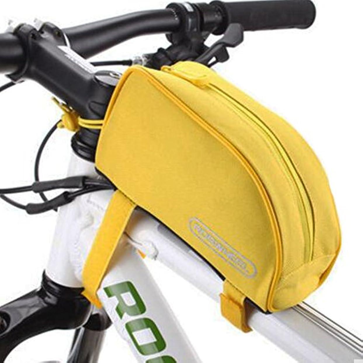 再生的減少ペデスタル自転車チューブフレーム自転車パニエ防水自転車バッグフロント自転車ハンドルバッグ-A1