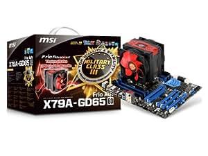 MSI Thermaltake社製CPUクーラー同梱の限定300個モデル X79A-GD65 (8D) Frio Adv.