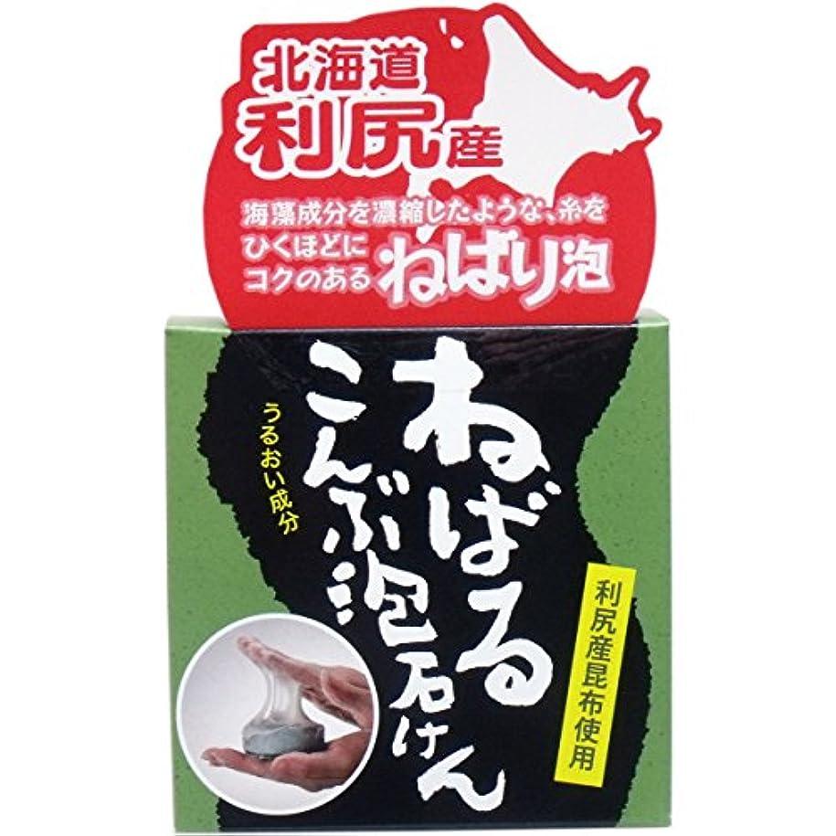 アイスクリーム公式洗剤ユゼ 利尻産こんぶ泡石けん 90g