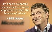 "Bill Gates Quote光沢ポスター写真Windows Microsoft有名クール 24""x36"""