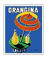 オランギナ - サンシェード広告 - ビンテージな広告ポスター によって作成された ベルナール・ヴィユモ c.1984 - アートポスター - 41cm x 51cm