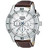 [セイコー パルサー]SEIKO PULSAR 100m防水 クロノグラフ ホワイト 腕時計 メンズ PT3433 [並行輸入品]