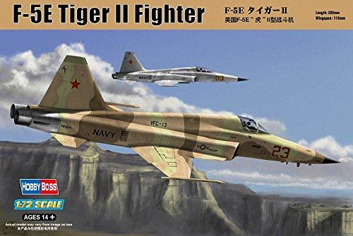 ホビーボス 1/72 エアクラフト シリーズ F-5E タイガーII プラモデル