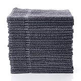 "Simpli-Magic 79250 Gray Hand Towels, 16""x27"", 12 Pack"