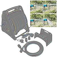"""庭のホース1/2""""のための水カートのハンドルのスプレーノズルの配水管の庭のスプレーノズルの高圧 ガーデン 散水コネクタ SHANCL (Size : Water pipe+50m suit)"""
